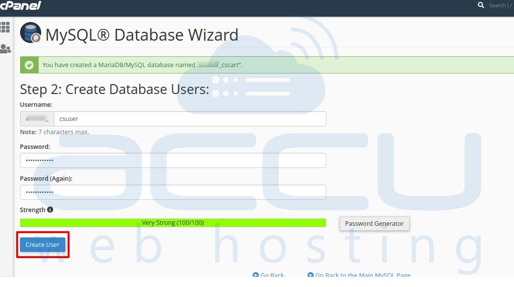 MySQL User