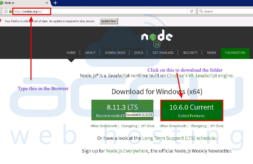 Nodejs-access-url-download
