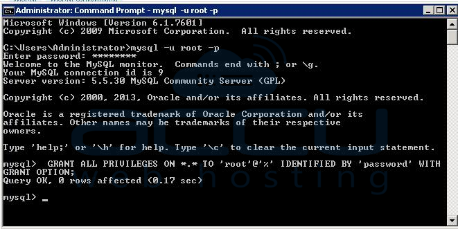 How to Allow Remote Connection to MySQL Server in Windows