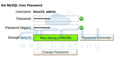 Set New Password of MySQL User