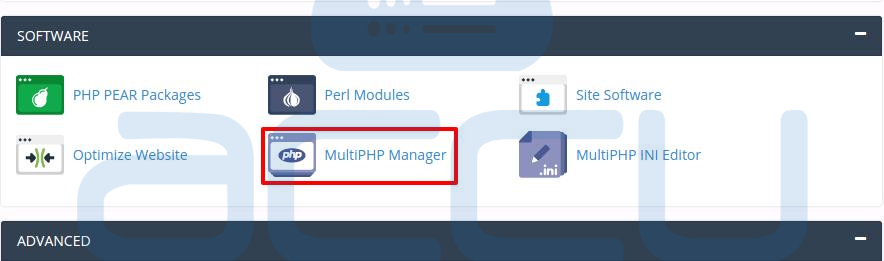 Multi PHP Version