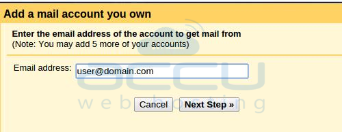 Gmail Account Settings Add Account