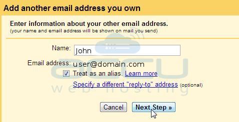 Setup Gmail SMTP