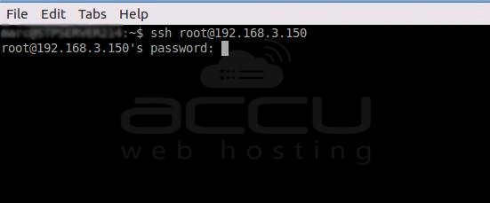 SSH Connection from Terminal in Linux OS