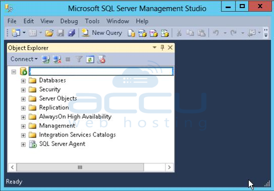 Successful Connection to MSSQL Server 2012
