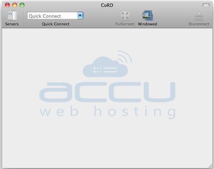 Open Cord in MAC OS
