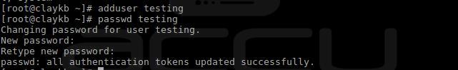 Linux User Password