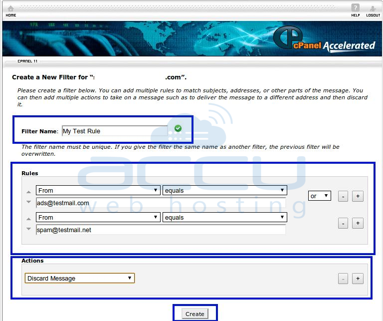 Fill All Details to Create User Level Filtering