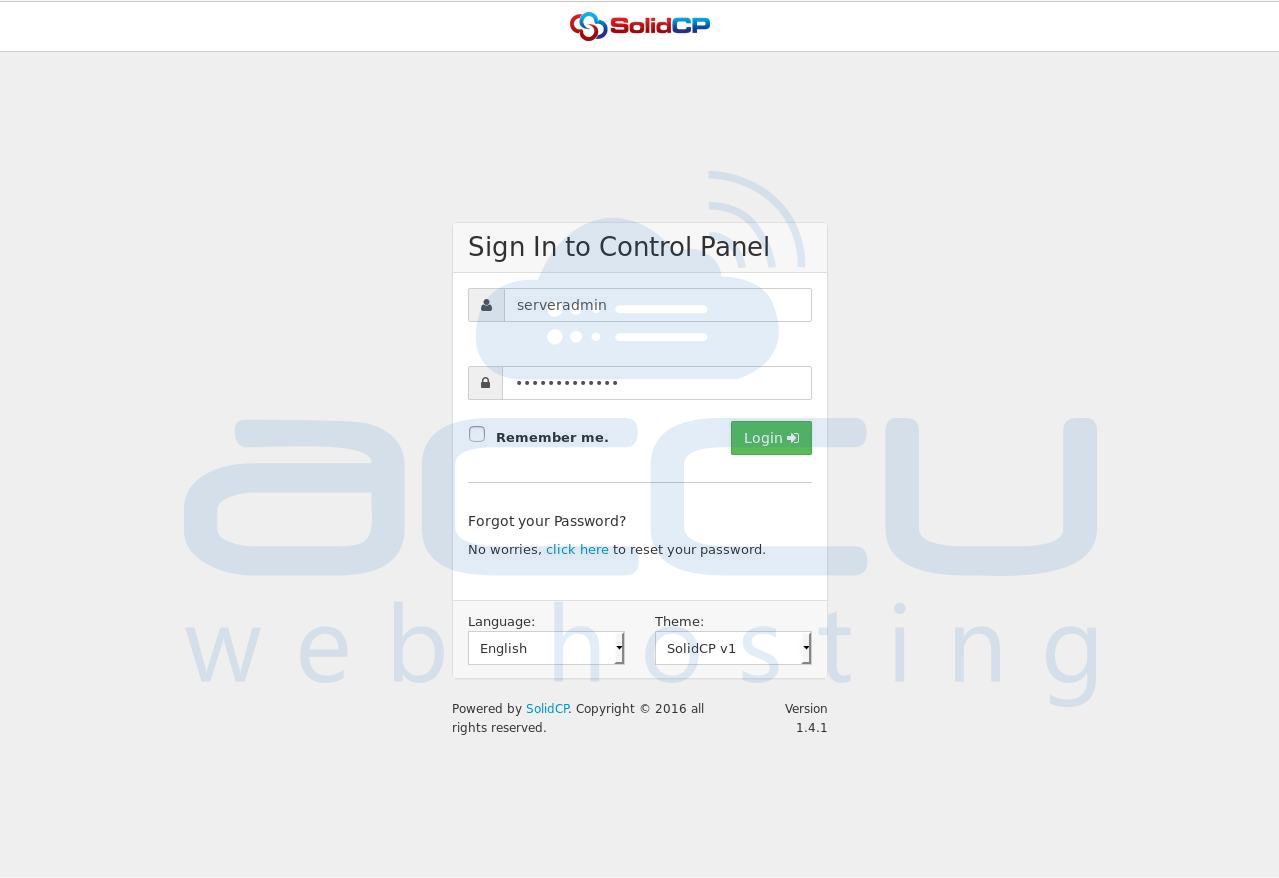02-enter-the-login-details-in-the-solid-cp