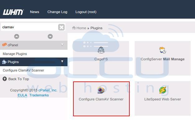 Configure ClamAV
