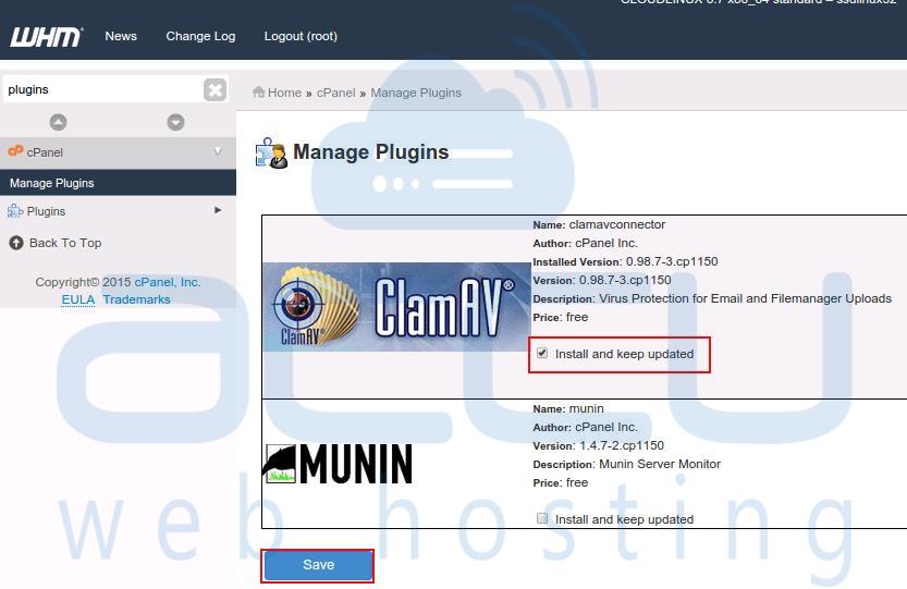 Install ClamAV