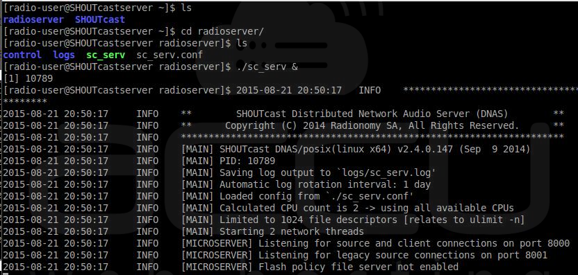 How to Install SHOUTCast Radio Server on Linux VPS