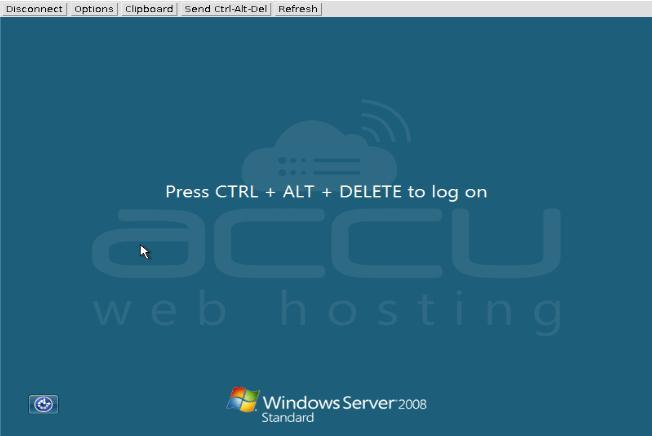 Acces Cloud VPS Console