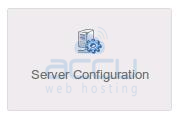 Server Configuration in WHM