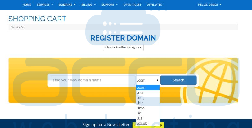 Check Domain's Availability