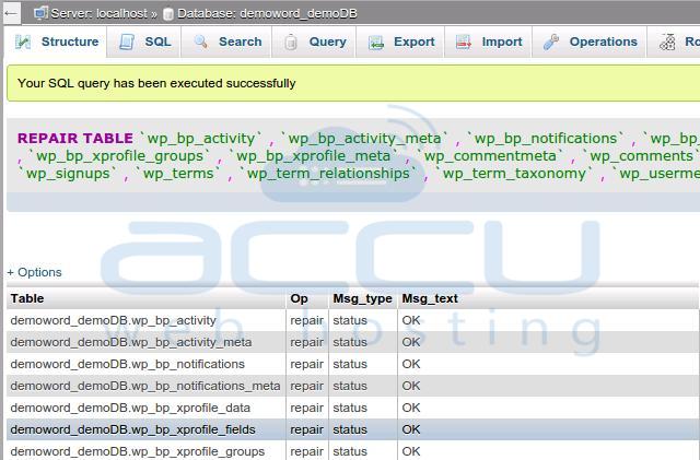 SQL Query Execution