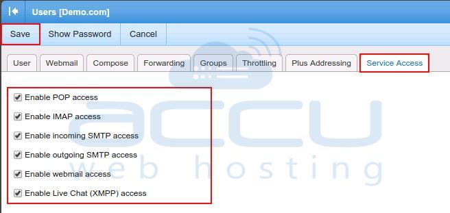 Service Access