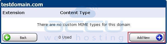 Add a New MIME Type