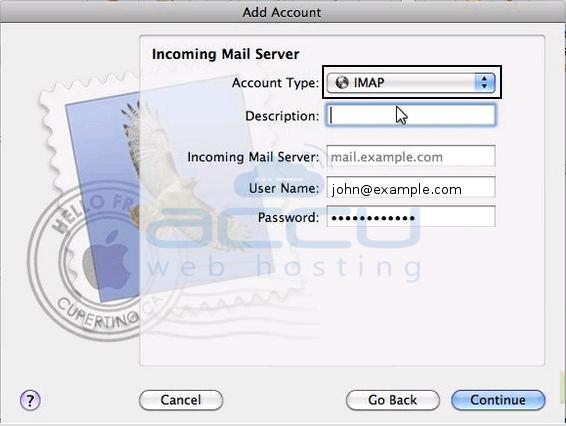 Setup Incoming Mail Server