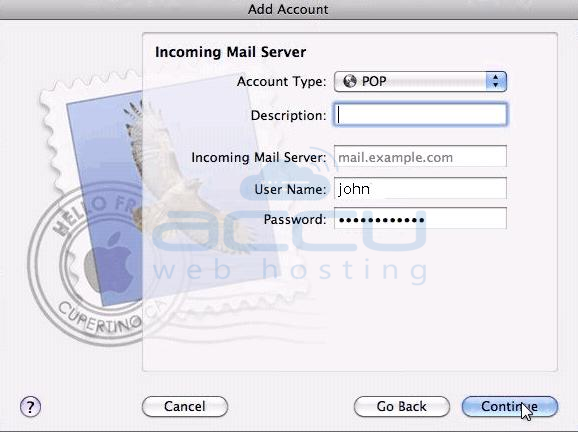 Setup Incoming Mail Server