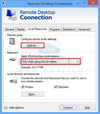How to Enable Remote Desktop Audio in Windows VPS