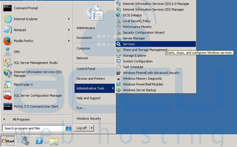 How to Stop and Start MySQL Service in Windows and Linux VPS