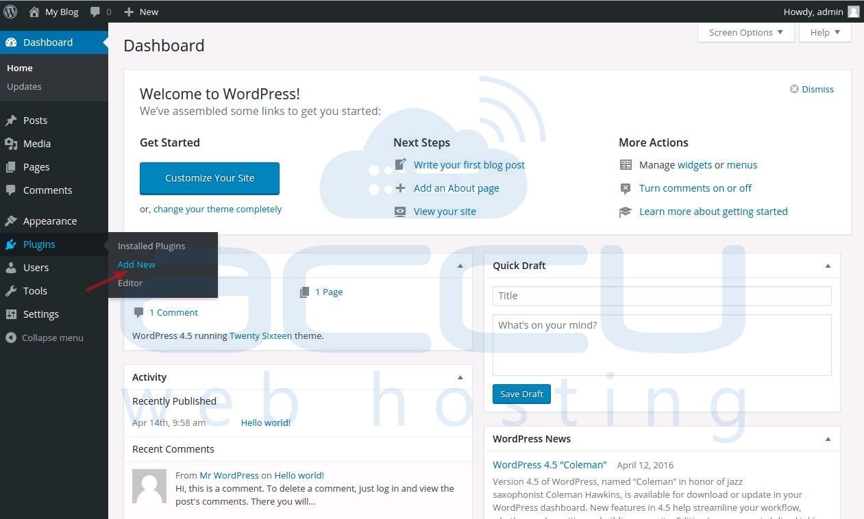 Add a New WordPress Plugin